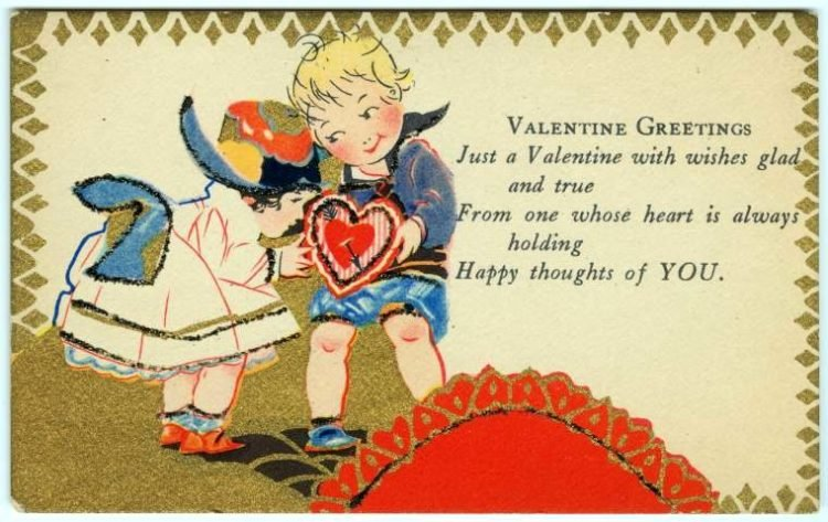 Old vintage Valentine's Day cards from the turn of the century (4)