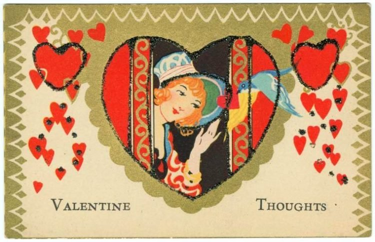 Old vintage Valentine's Day cards from the turn of the century (5)