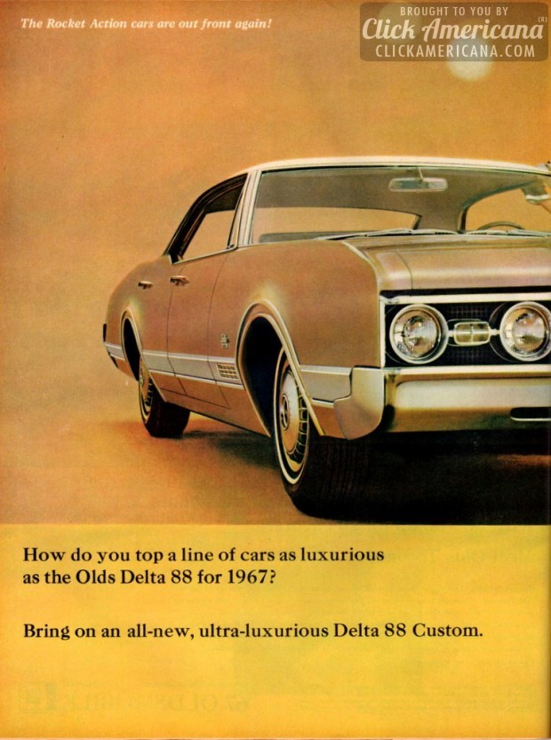 Olds Delta 88 for 1967-1966 ad (2)