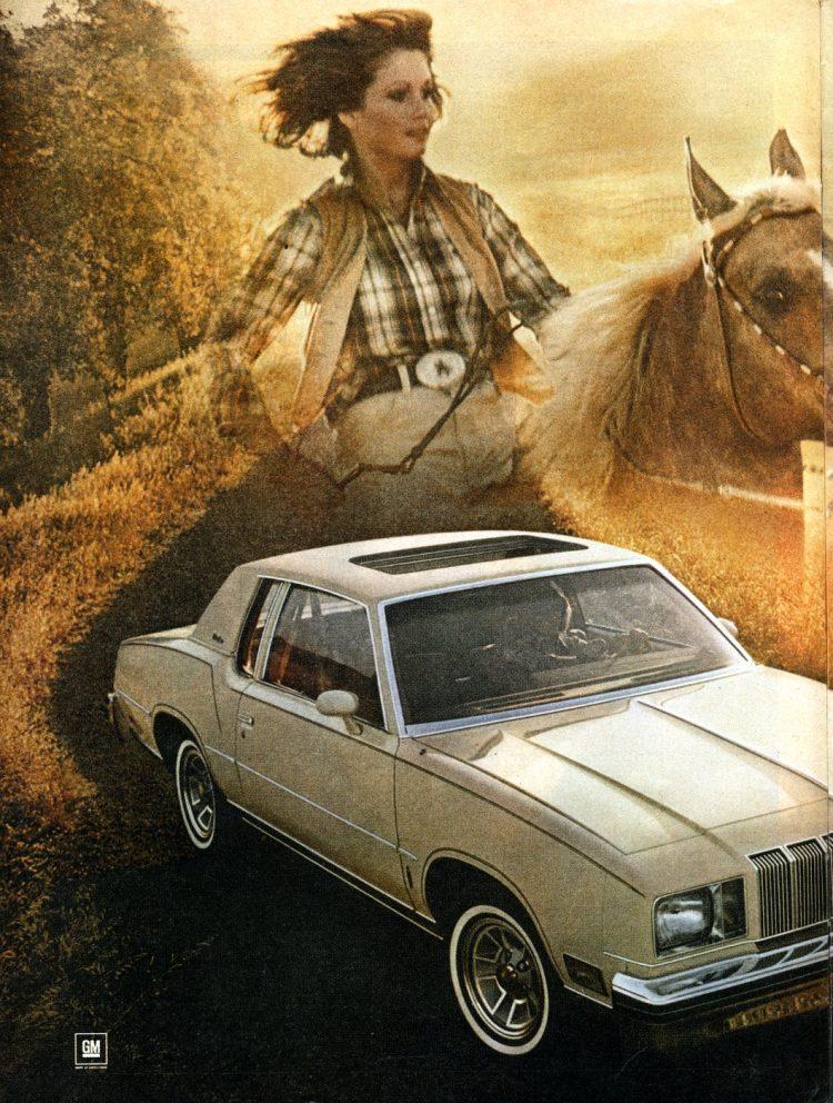 Oldsmobile Cutlass Supreme 78 - classic Oldsmobile luxury sedans