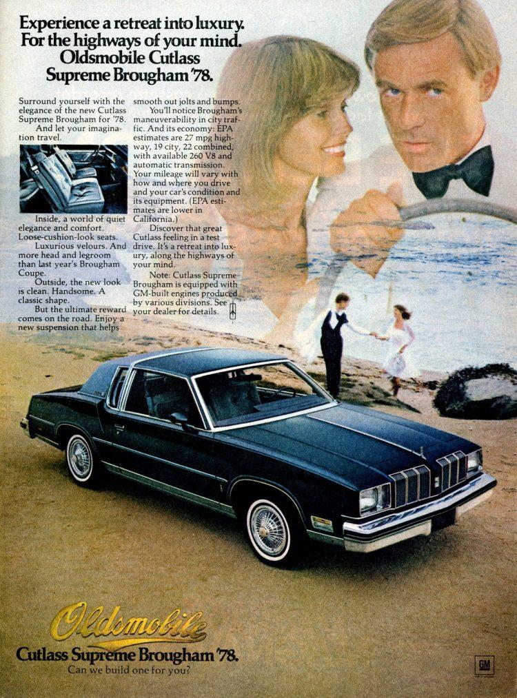 Oldsmobile Cutlass Supreme Brougham '78
