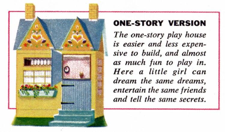 Play house design