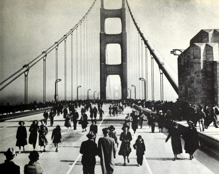 Opening the Golden Gate bridge