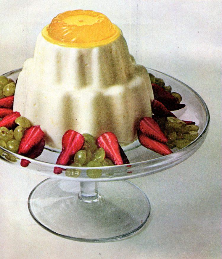 Orange chiffon pie, Lime Bavarian Charlotte and more (1965)