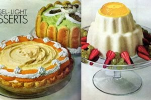 Orange chiffon pie, Lime Bavarian Charlotte & more (1965)