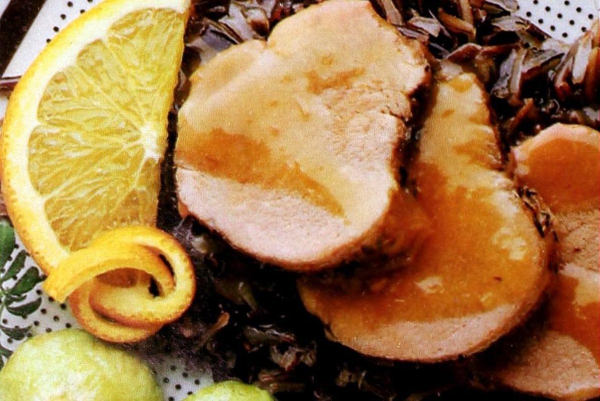 Orange pork tenderloin (1989)