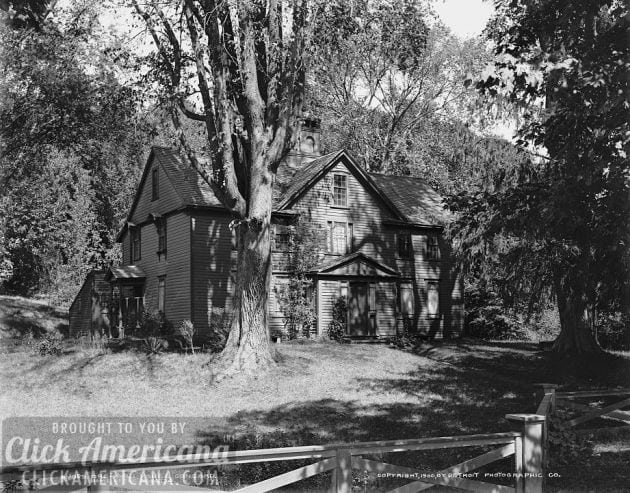 Orchard House, Concord, home of the Alcotts 1900