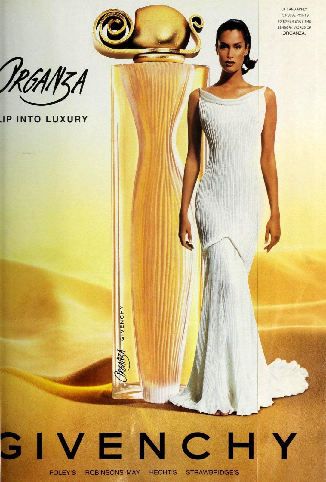 Popular vintage perfumes from the '90s - Organza from Givenchy (1998) at ClickAmericana.com