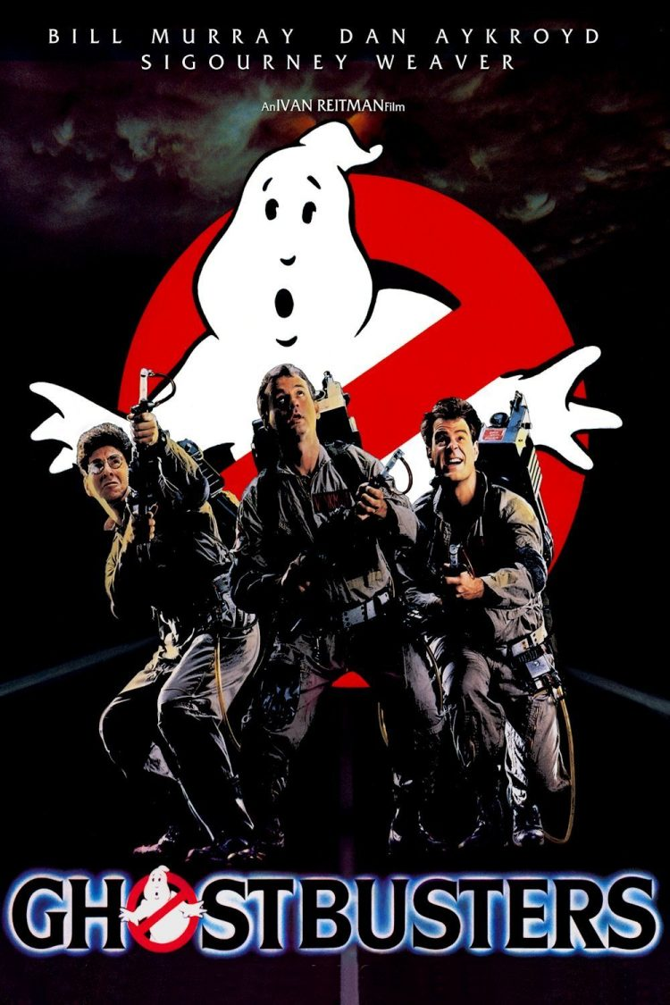 Original Ghostbusters movie poster from 1984