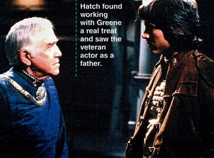 Original TV series Battlestar Galactica scene