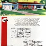 Original vintage exteriors and floor plans for American houses built in 1958 - at Click Americana (12)