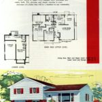 Original vintage exteriors and floor plans for American houses built in 1958 - at Click Americana (13)