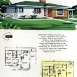 Original vintage exteriors and floor plans for American houses built in 1958 - at Click Americana (14)