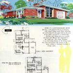 Original vintage exteriors and floor plans for American houses built in 1958 - at Click Americana (20)