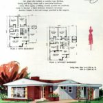 Original vintage exteriors and floor plans for American houses built in 1958 - at Click Americana (27)