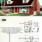 Original vintage exteriors and floor plans for American houses built in 1958 - at Click Americana (30)