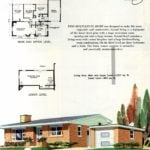 Original vintage exteriors and floor plans for American houses built in 1958 - at Click Americana (31)