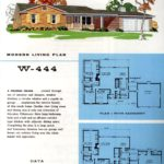 Original vintage exteriors and floor plans for American houses built in 1958 - at Click Americana (34)