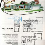 Original vintage exteriors and floor plans for American houses built in 1958 - at Click Americana (36)