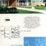 Original vintage exteriors and floor plans for American houses built in 1958 - at Click Americana (6)