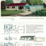 Original vintage house designs for homes built in 1952 - at Click Americana (2)