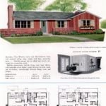 Original vintage house plans for American suburban homes built in 1953 - at Click Americana (4)