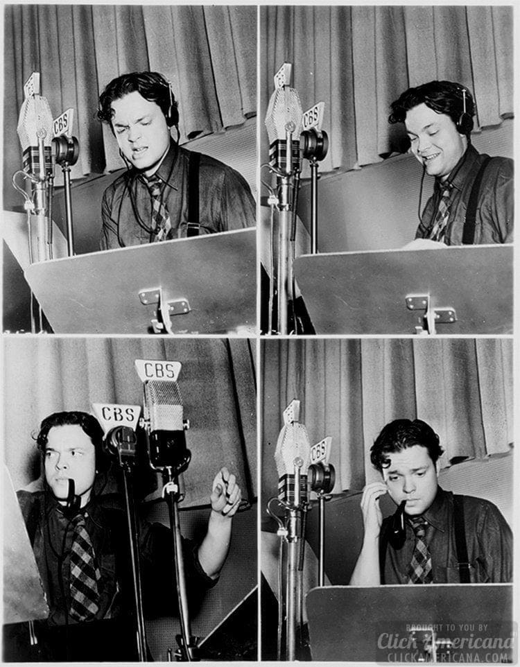 Orson Welles - War of the Worlds radio