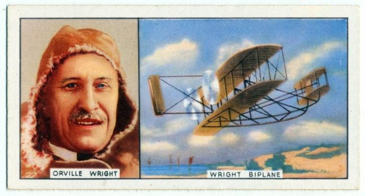 Orville Wright - Air flight - first successful airplane