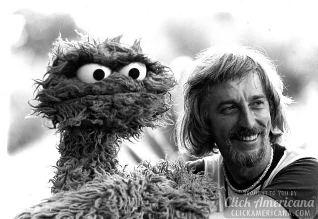 Oscar the Grouch and Caroll Spinney. Image courtesy Copper Pot Pictures
