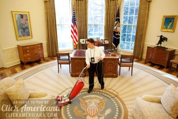 Work Amp Play In The White House Oval Office Click Americana