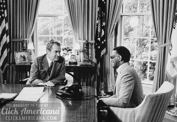 Oval Office Richard Nixon Ray Charles 1972