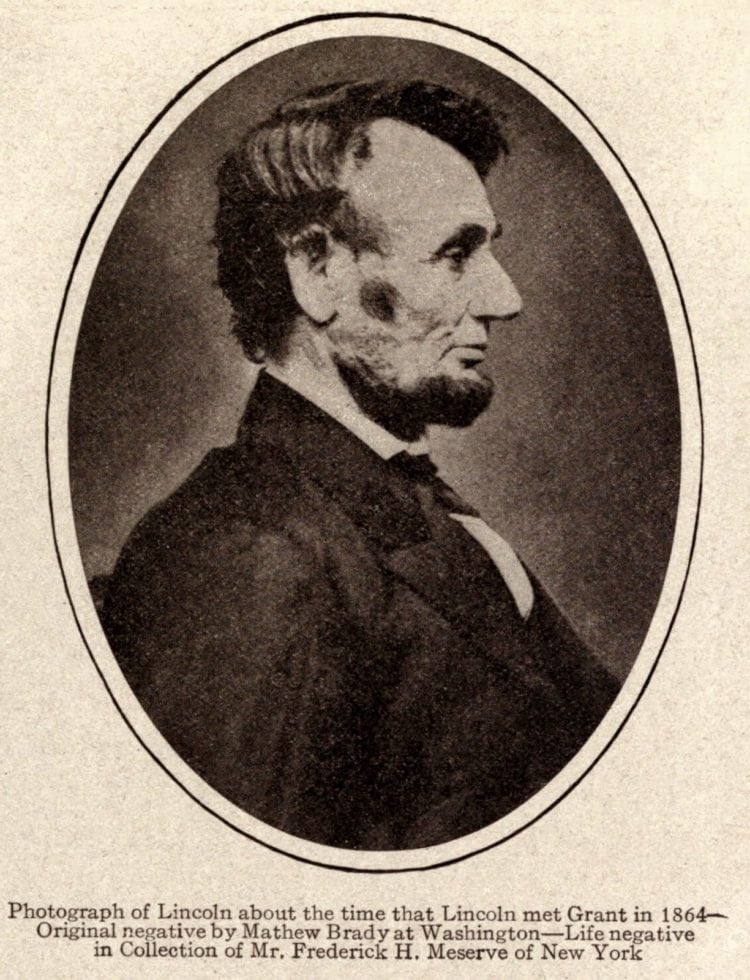 Abraham Lincoln quotes - Oval matte portrait of President Lincoln