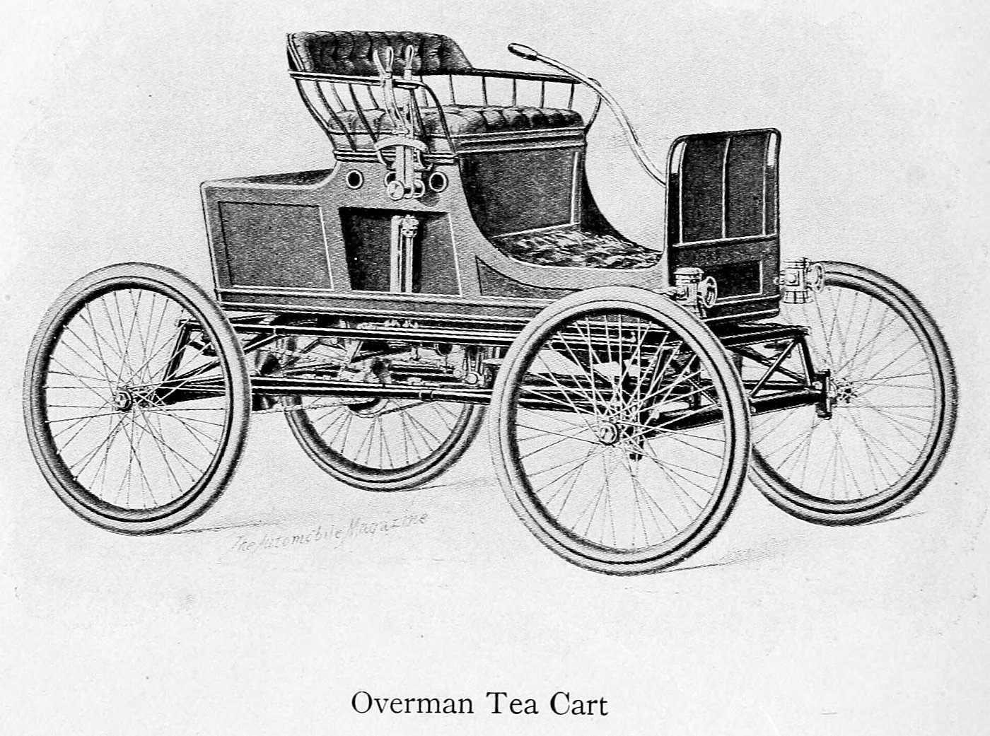 Overman Tea Cart (1899)