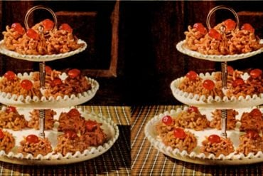 P-nutty butterscotch crunchies Classic cookie recipe (1961)