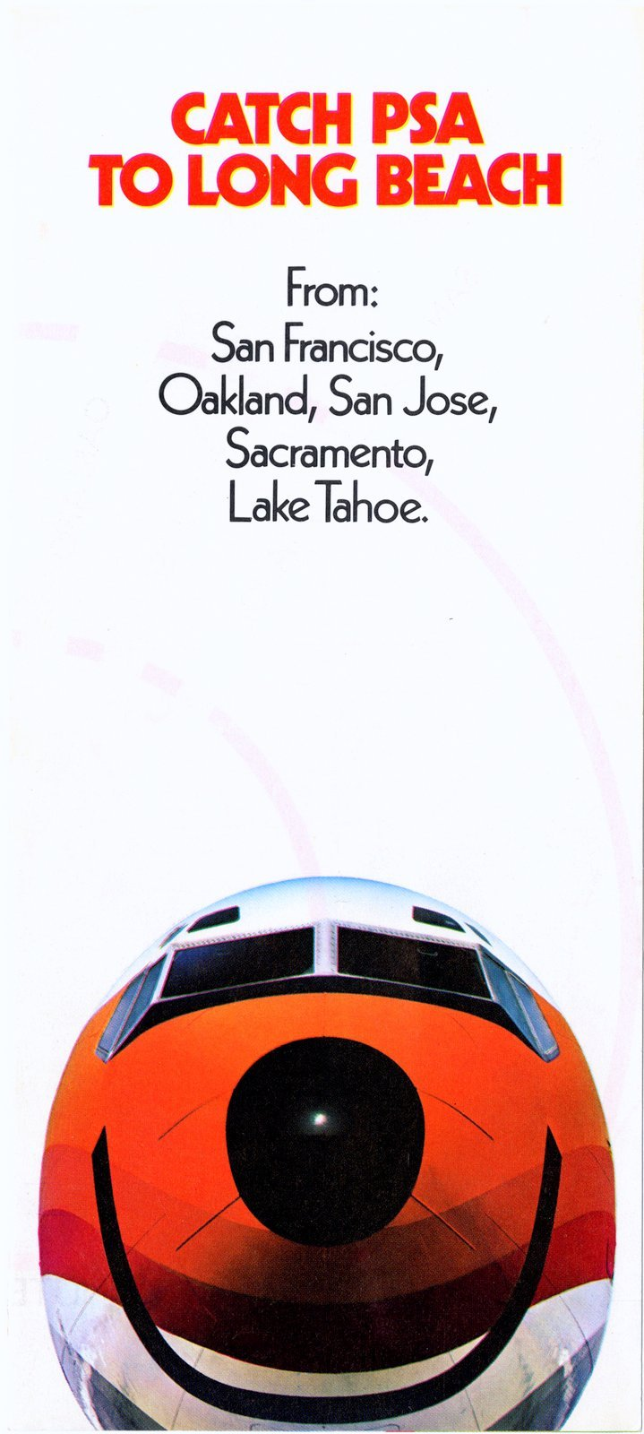 PSA to Long Beach - brochure from the 1970s