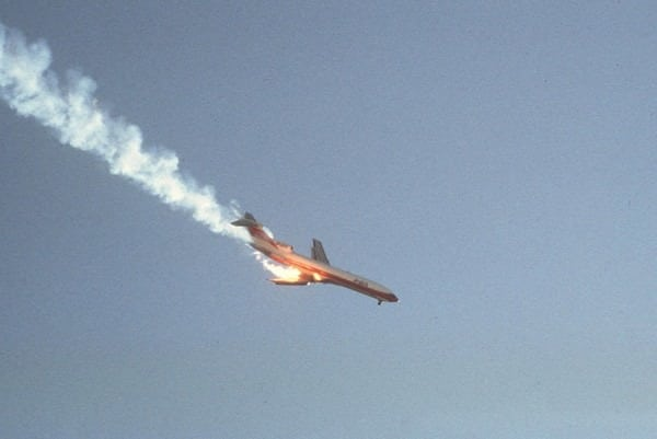 The crash of Pacific Southwest Airlines flight 182 (1978)