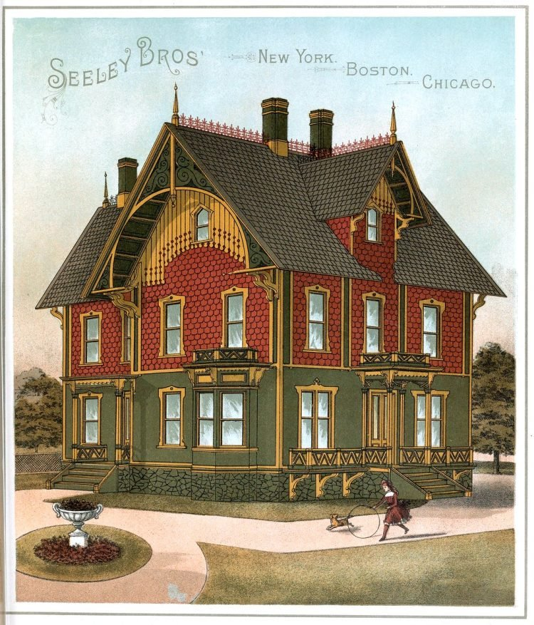 Painted Victorian homes from 1886 (18)