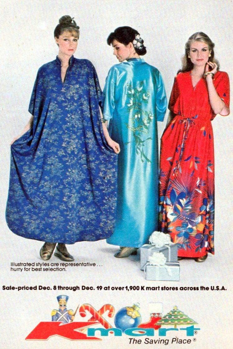 Pajamas and vintage sleepwear from 1981 (1)