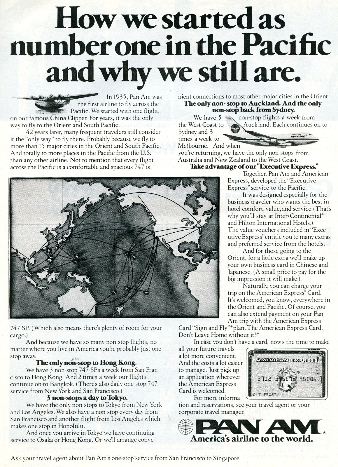 Pan Am - Number one in the Pacific (1977)