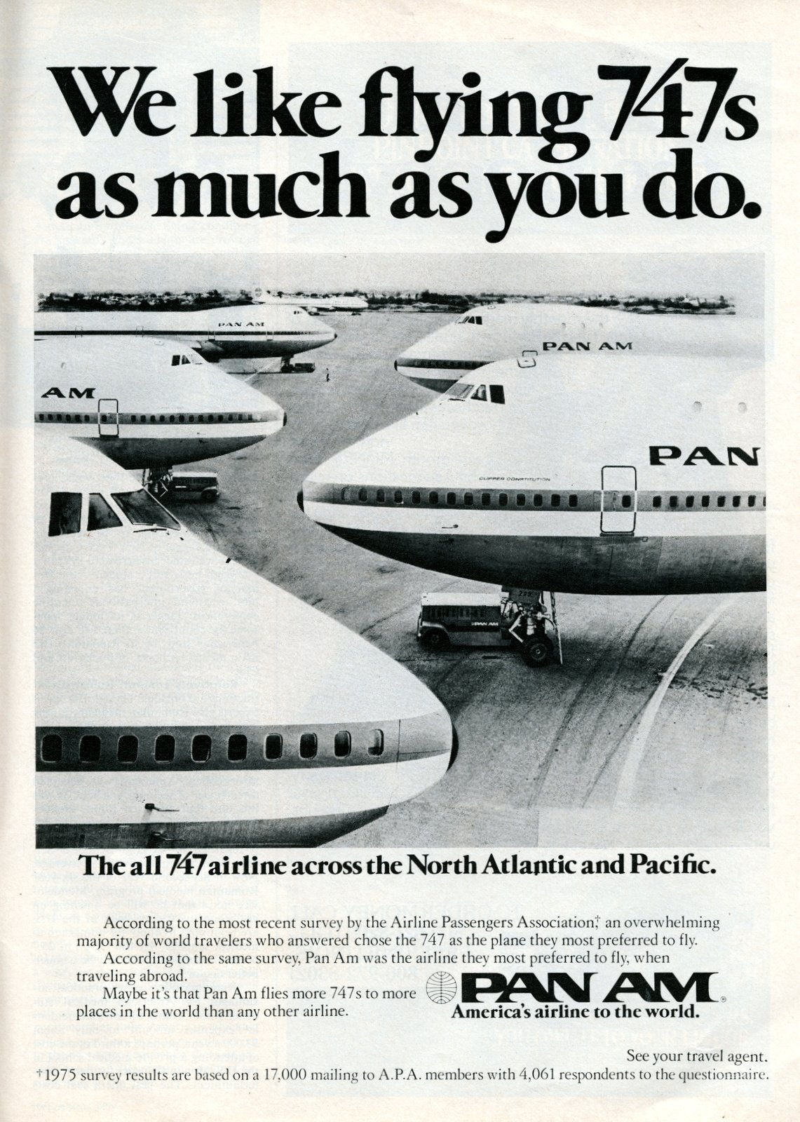 Pan Am's 747 jets (1977)