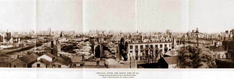 Panorama frame 3 from after the Great Chicago Fire in 1871 (144)