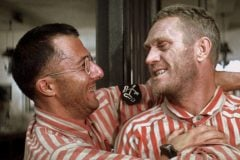 Papillon The 1973 movie had two superstar talents, Hoffman and McQueen