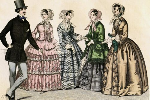 Parties and courtship in 1850