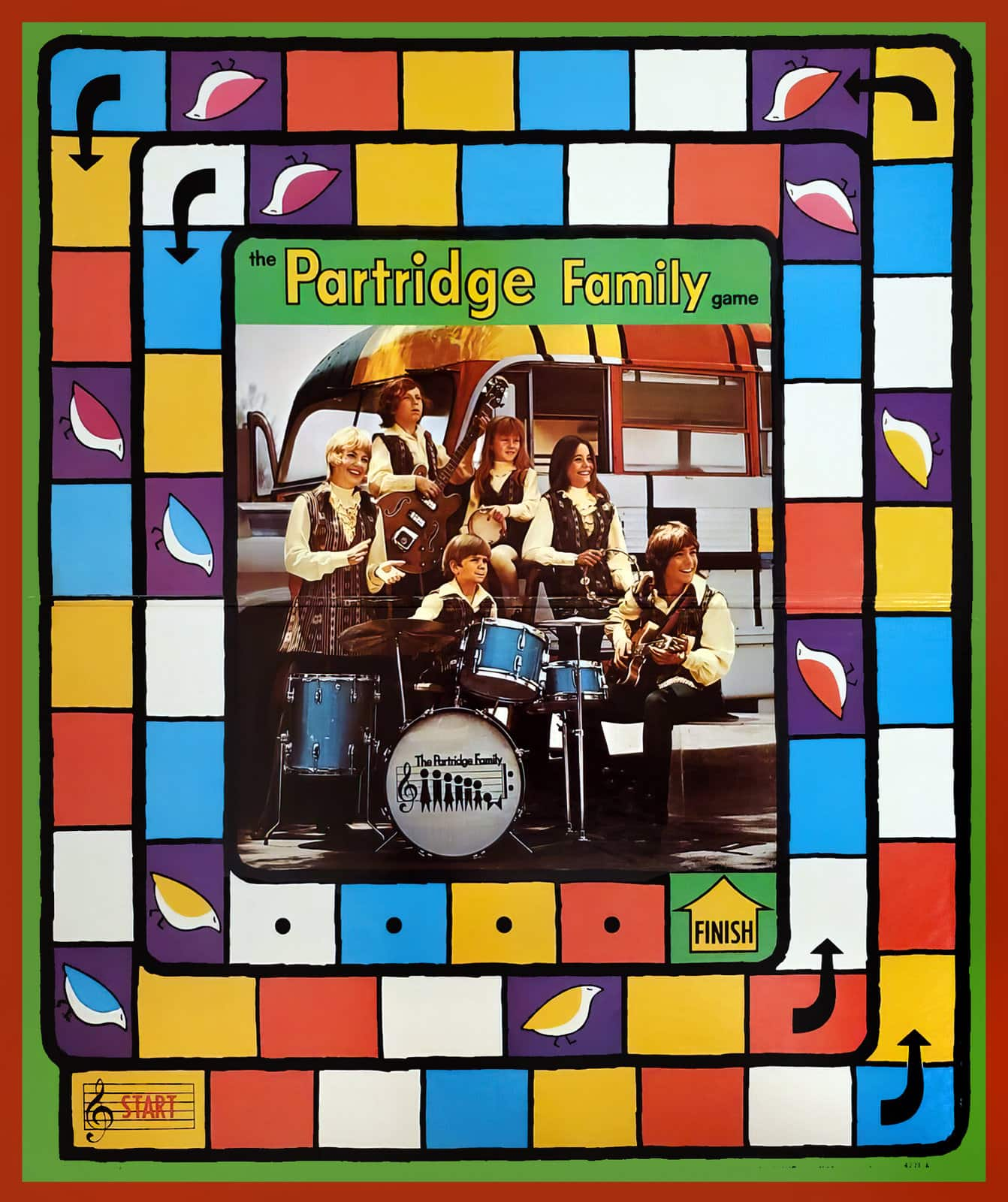 Partridge Family game board