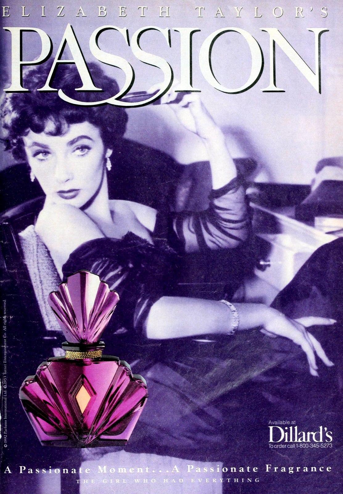 Passion from Elizabeth Taylor (1992) at ClickAmericana.com