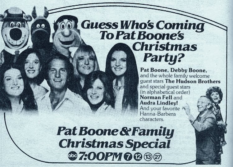 Pat Boone Christmas special 1979