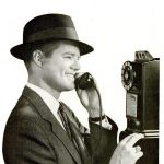 Pay phone 1955 Long distance calls