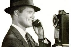 Pay phone 1955 Long distance calls