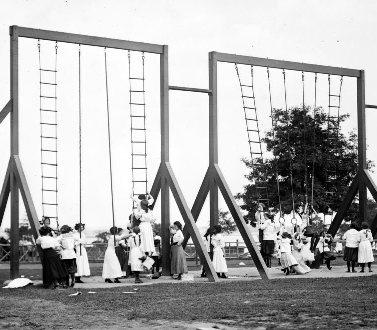 Pelham Bay Park in the Bronx on June 1911