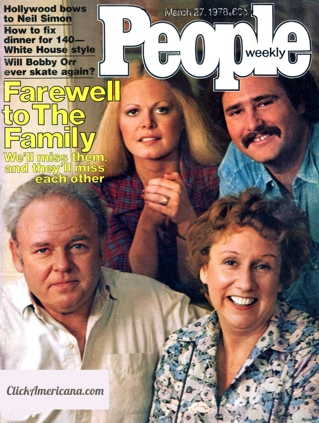 People Magazine - All in the Family - March 27 1978